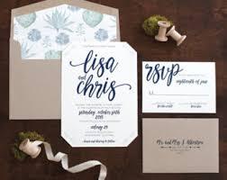 succulent wedding invitations desert invitation etsy