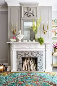 Mantel Fireplace Decorating Ideas - 17 fireplace decorating ideas to die for