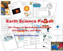free earth science unit study 50 activities u0026 printables