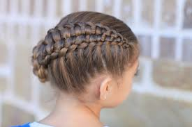 cute girl hairstyles how to french braid hair style how to create zipper braid updo hairstyles cute girls