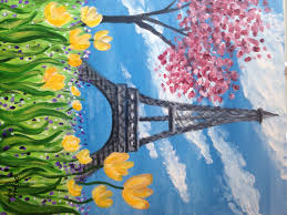 paint party eiffel tower the artful lawyer a fine gallery inc