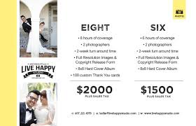 photography wedding packages wedding photography packages