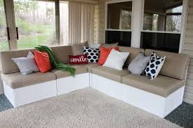 Diy Outdoor Sectional Sofa Ana White Outdoor Sectional Diy Projects