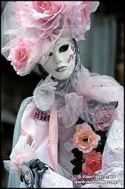 venetian carnival costumes beauty in pink ornamental venice carnival costume italy photo by