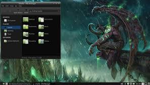 dorian dark theme on linux mint 16 xfce youtube