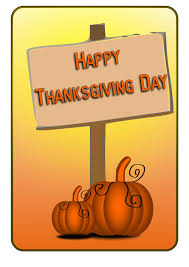 happy thanksgiving day sign clip at clker vector clip