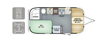 30 Ft Travel Trailer Floor Plans Floorplan Tommy Bahama Travel Trailer Airstream