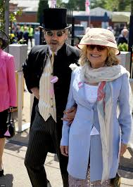 karen spencer countess spencer disaster for the queen at ascot after her horse is injured during