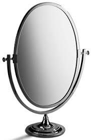 Polished Nickel Vanity Mirror Samuel Heath L106 Large Oval Tilting Vanity Makeup Mirrors