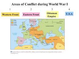 Ottoman Empire World War 1 War Around The World Western Fronteastern Front Ottoman Empire