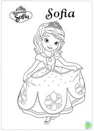 sofia coloring coloring pages