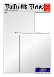 report writing template ks1 newspaper writing frames and printable page borders ks1 ks2