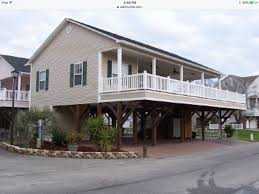 1 story beach house on stilts archives ocean lakes rentals by owner