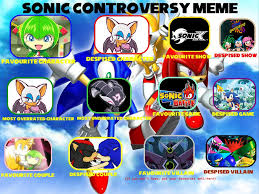 Sonic The Hedgehog Meme - sonic the hedgehog controversy meme by hexidextrous on deviantart