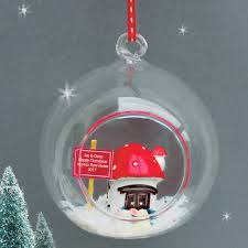 personalised first christmas in new home bauble by sweet dimple