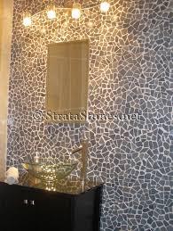 Grey Mosaic Bathroom Pebble Mosaic Tile Bathroom Akioz Com