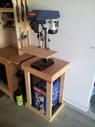 building a drill press stand part 2 the woodwork geek