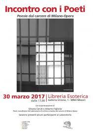 galleria unione 1 libreria esoterica 30 3 17 incontro con i poeti poesie dal carcere di