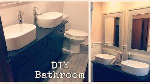 Diy Bathroom Vanities Diy Bathroom Vanity Rustic Bathroom Remodel Youtube