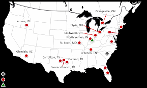 Tennessee On Map by Learn About Fortune Plastics A Hilex Poly Company Novolex