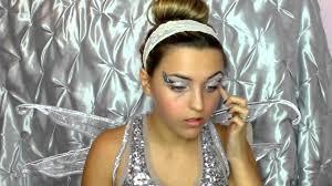 simple pretty angel halloween makeup youtube