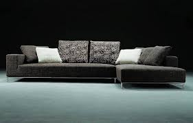 cool sectional sofas cool trend home interior grey modern microfiber sectional sofas