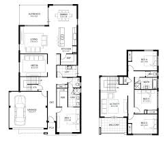 Double Storey House Floor Plans Outstanding 4 Bedroom House Plans Beautiful Architecture Floor For