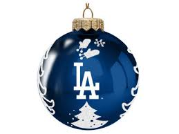 Los Angeles Christmas Decorations Los Angeles Dodgers Mlb Mini U0026 Holiday Décor Wrapping Paper