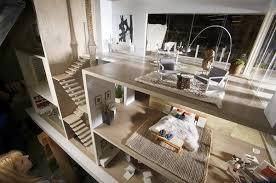 Modern Dollhouse Furniture Sets by Interior Design Miniature Dollhouse Model
