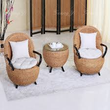 Bedroom Table And Chair | furniture factory den bedroom balcony plants weave chair for