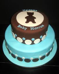awesome brown and blue baby shower cakes 47 in vintage baby shower