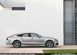 breaking audi reveals 2013 model changes quattroworld
