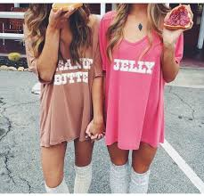 image of peanut butter u0026 jelly matching shirts sleepdaily