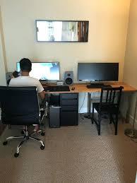 Computer Desk Setup Computer Pc Desk Mod Modification Setup Gaming Computer Rig Inside