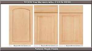Kitchen Cabinet Door Finishes 611 Maple Cabinet Door Styles And Finishes Maryland Kitchen