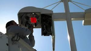 led parking lot lights vs metal halide parking lot lighting retrofit in only 20 minutes using your own