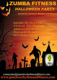 halloween party events upcoming events blacklight zumba party thorbeckes fitlife centers