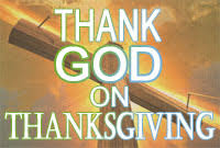 thanksgiving is a time for thanking god gordon williams