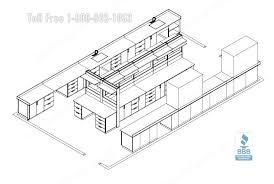 chemical laboratory workstation furniture modular lab casework