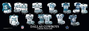 dallas cowboys and team history heritage uniforms and
