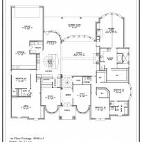 Single Storey Floor Plans Home Design Modern 2 Story House Floor Plans Contemporary 1 Story