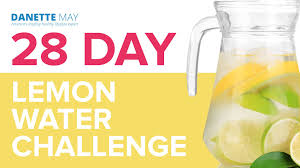Challenge With Water 28 Day Lemon Water Challenge