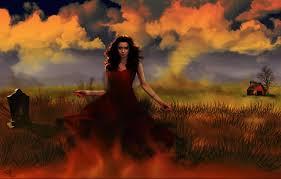vampires clouds dress fantasy girls dark halloween vampire gothic