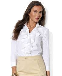 blouse ruffles womens blouses with ruffles with popular style in germany