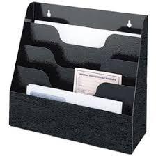 Paper Organizer For Desk Accessories Furnishings Desk Accessories Wall Organizers