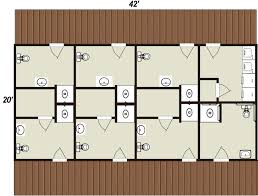 campground bath house floor plans design sweeden