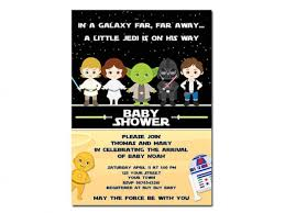 wars baby shower ideas top 14 wars baby shower invites for you thewhipper