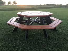 Free Octagon Picnic Table Plans Pdf by Ana White Octagon Picnic Table Diy Projects