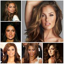 type of hair style tan skin perfect hair colors for tan skin new hairstyles for women