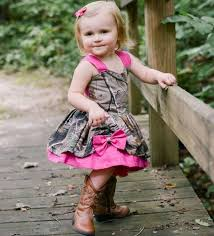 lovely camo baby dresses 2016 fushia straps bowknot girls